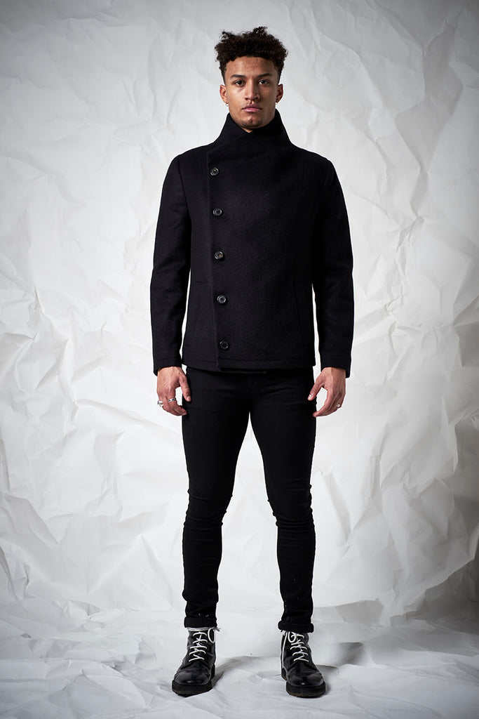 Nether Coat in Black