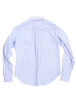 Popelin Embossed Stripe Shirt