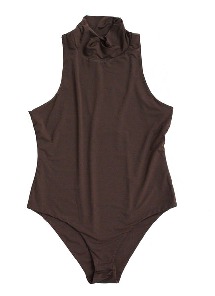 Trick Bodysuit in Chocolate