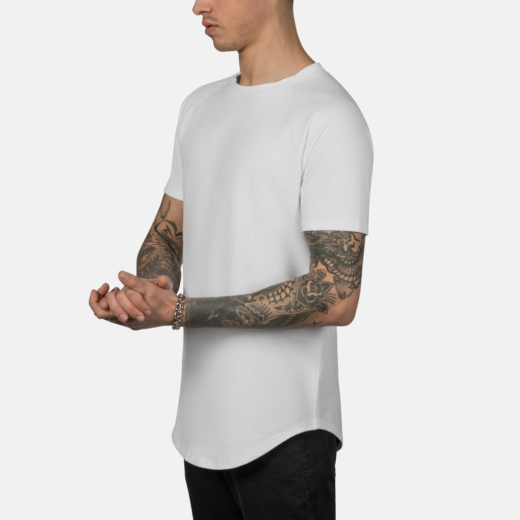 6db7bced Scooped Tee in Off White