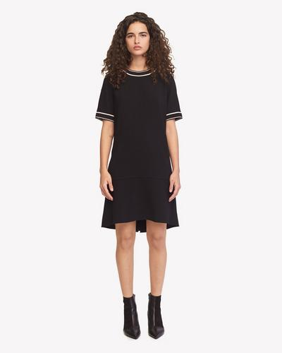 Thatch Dress in Black