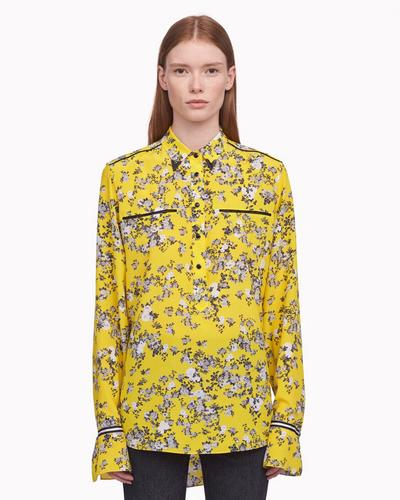 Martel Shirt in Yellow Garden
