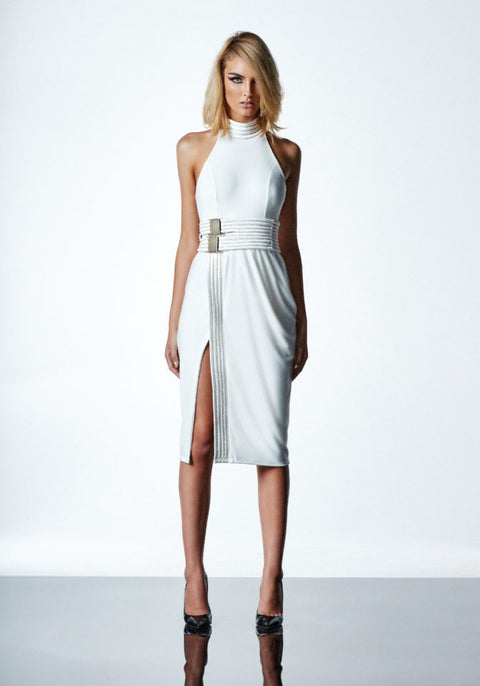 Astor Dress in White