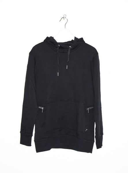 Hood Sweatshirt in Black