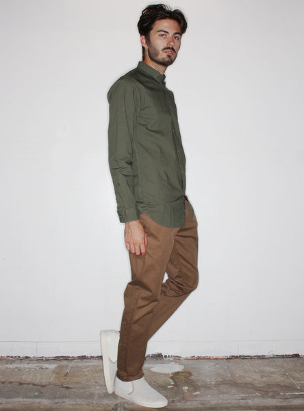 Tuck 7ft L/S Shirt in Olive