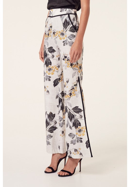 Athena Wide Split Hi-Waisted Pant