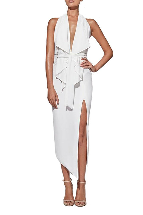 Carrie Dress in White