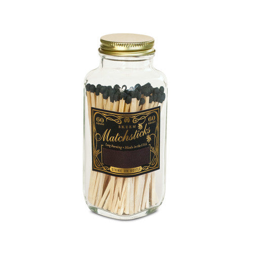 Match Bottle in Black and Gold
