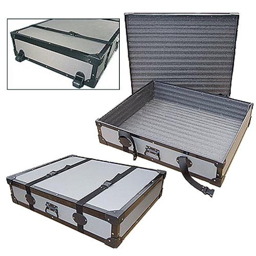 Artwork Portfolio & Sign Transport Road Case with Dolly Wheels