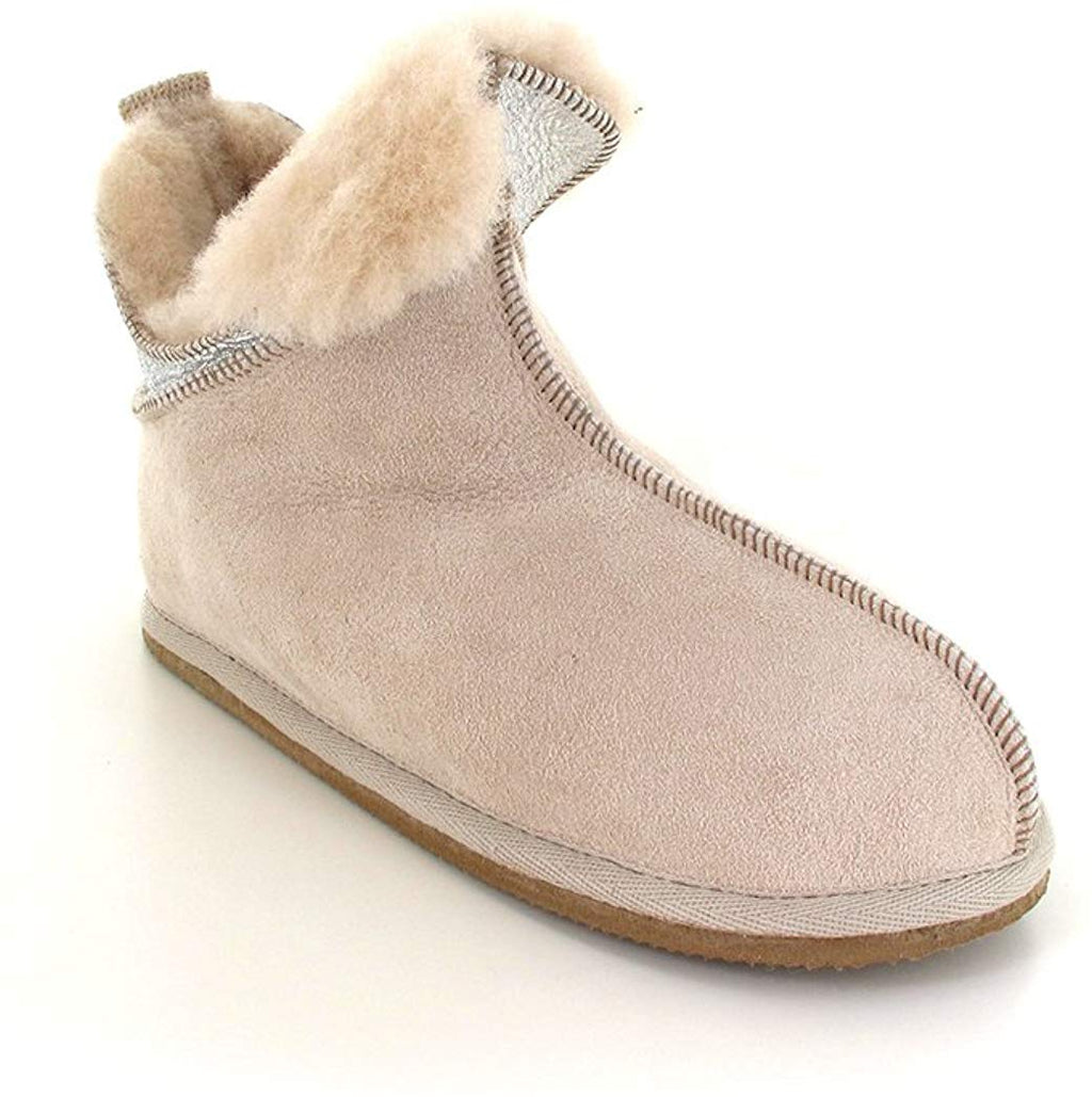 Shepherd Shearling Slipper Boot | 'Dana Silver & Beige