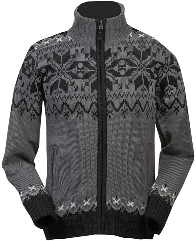 ICEWEAR Gunnar Norwegian Fully Lined Jacket | Comfortable Wear Sweater