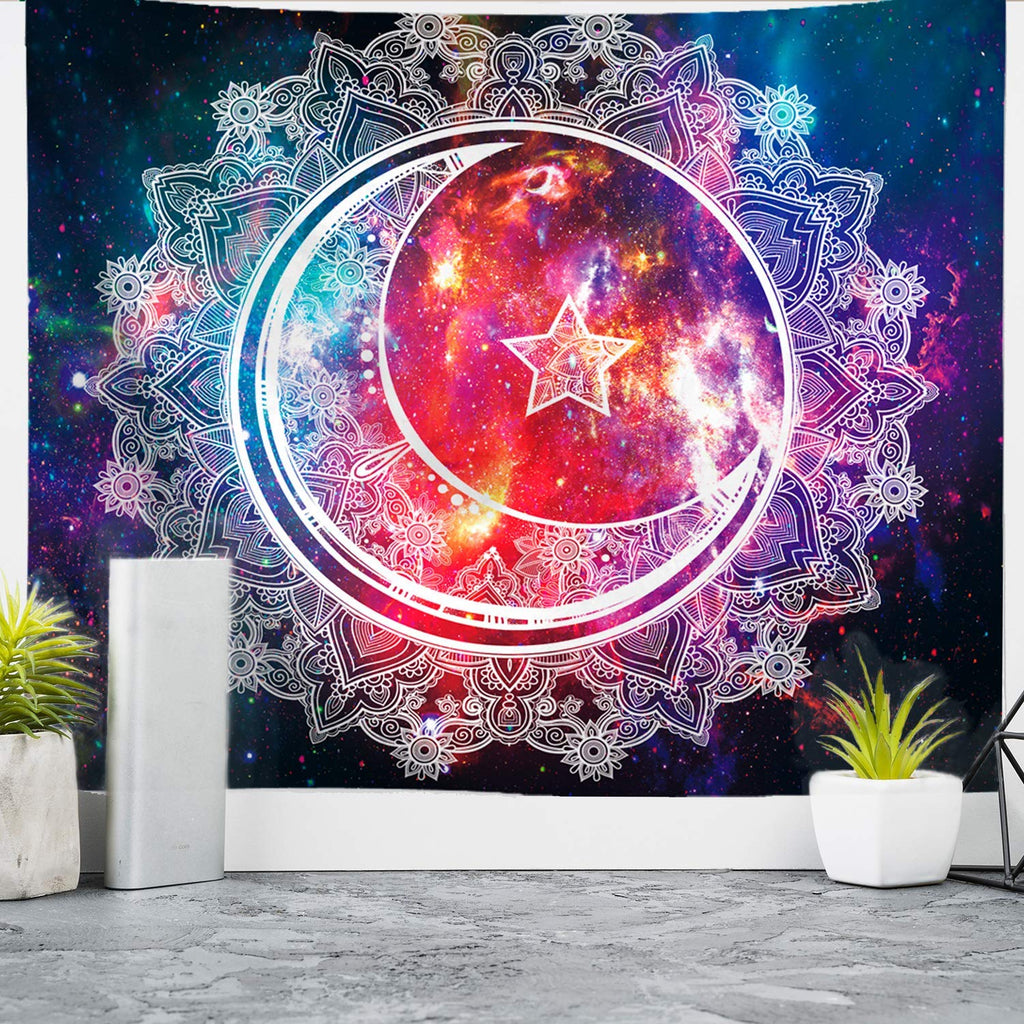 Psychedelic Tapestry Wall Hanging