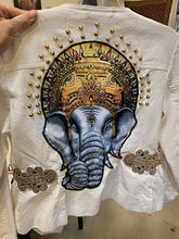 Load image into Gallery viewer, Divine Ganesha Soft Fabric Motorcycle Jacket
