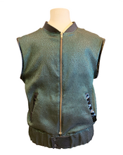 "Load image into Gallery viewer, ""Keep it 100"" Ultracool 2-in-1 Green Metallic Jacket and Vest Combo"