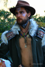Load image into Gallery viewer, Boho ChicMen's Peaceful Warrior Jacket