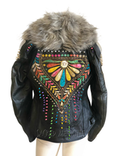 Load image into Gallery viewer, Matrix of Love Certified Armor Motorcycle Chic Jacket