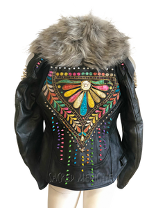 Matrix of Love Certified Armor Motorcycle Chic Jacket