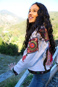 Boho Chic London Bridges Jacket