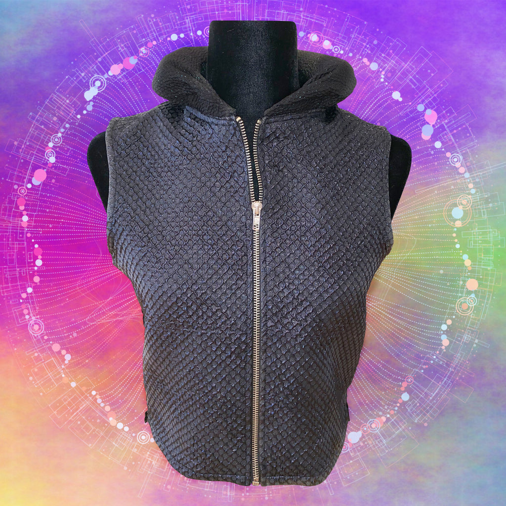 """Spacey ""Tubular Collar Vest"