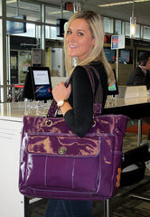 Violet Korri at the Airport