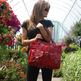 Robin Laptop Bag, red, Urban Junket