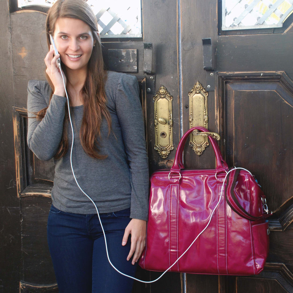 Angela Laptop Bag + Portable Charger