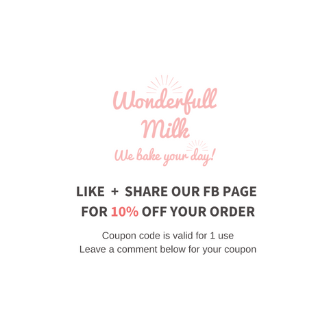 Wonderfull Milk Facebook Promotion