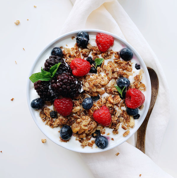 Blueberry Walnut Lactation Granola