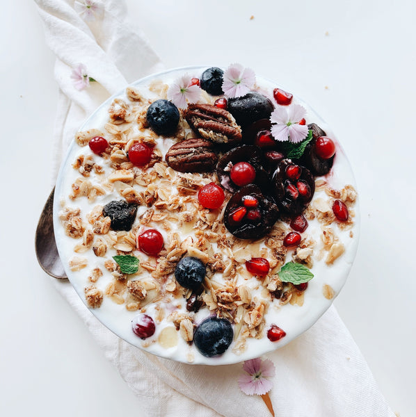 Cherry Pecan Lactation Granola