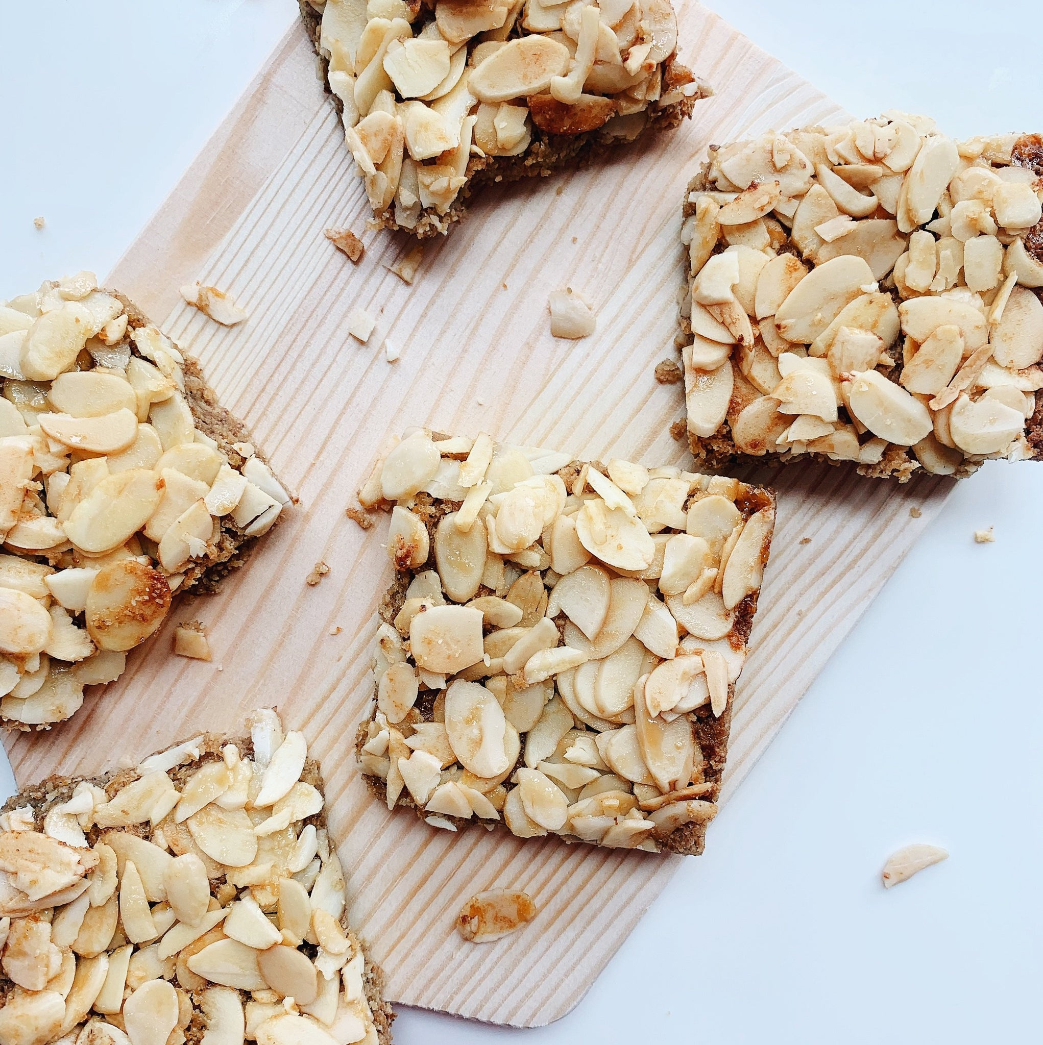 Honey Almond Lactation Slices