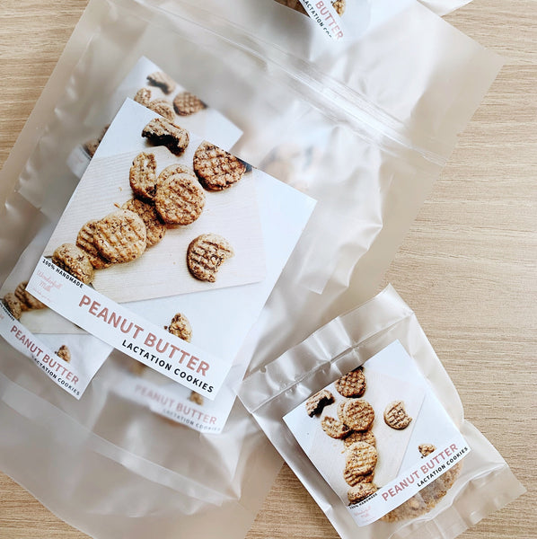 Cookies - Peanut Butter Lactation Cookies -Wonderfull Milk