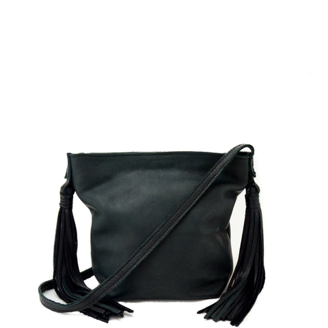 Asakapae Mini Leather Black