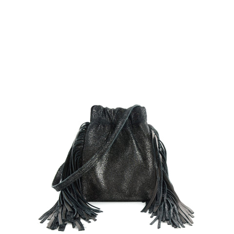 Cava Mini Fringe Black
