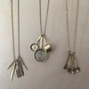 Brass Cooking Spoons Necklace