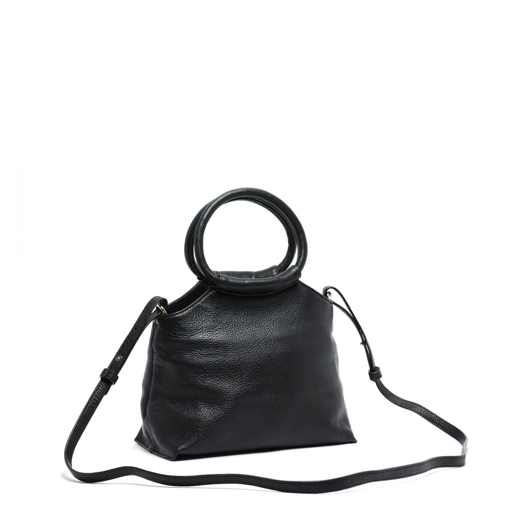 Lemli Crossbody Leather Black