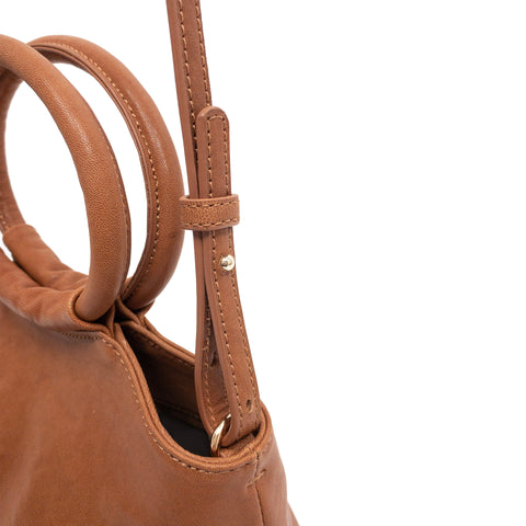 Lemli Crossbody Leather Camel
