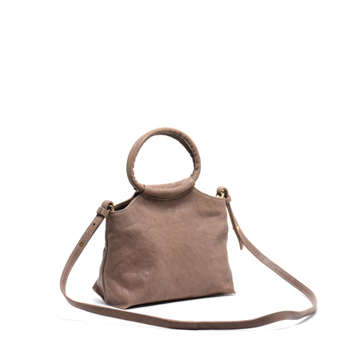 Lemli Crossbody Leather Taupe