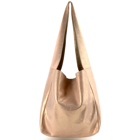 Lola Shimmer Shoulder Rose Gold