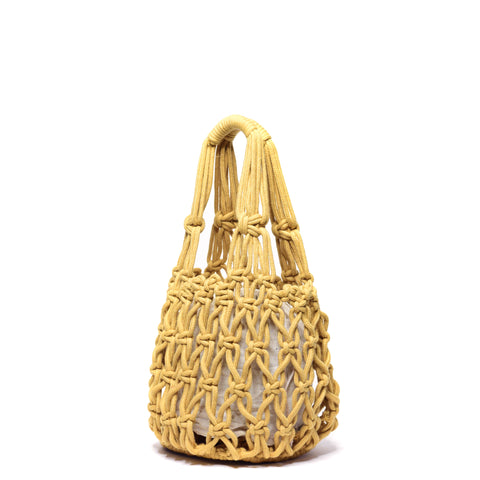 Miel Knotted Bucket Bag Marigold