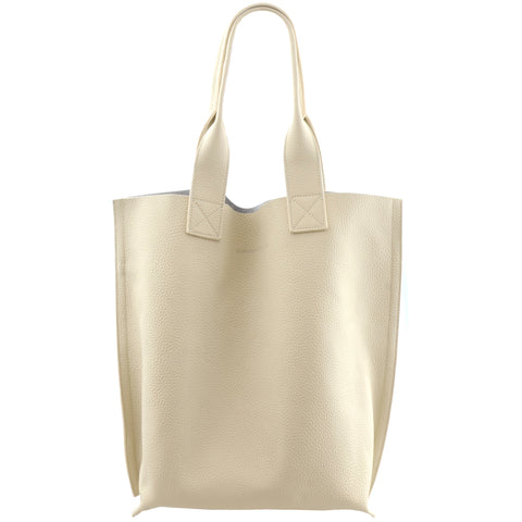 Mogin North/South Tote Cream