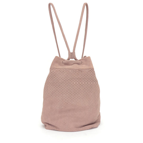 Sixto Backpack Slash Suede Blush