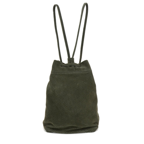 Sixto Backpack Slash Suede Olive