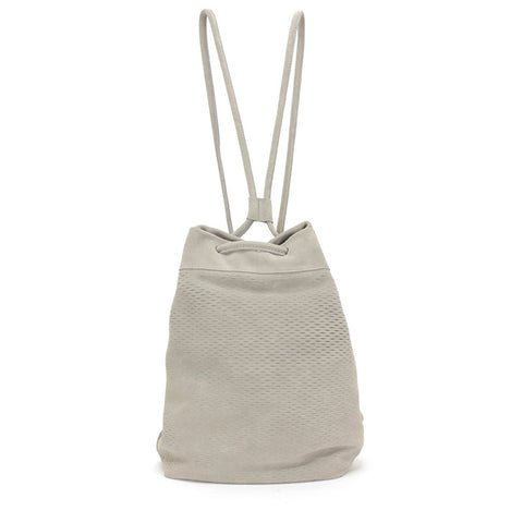 Sixto Backpack Slash Suede Taupe