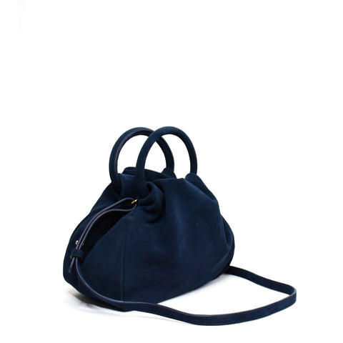 Vidal Crossbody Suede Navy