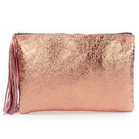 Botevara Large Pouch Rose Gold
