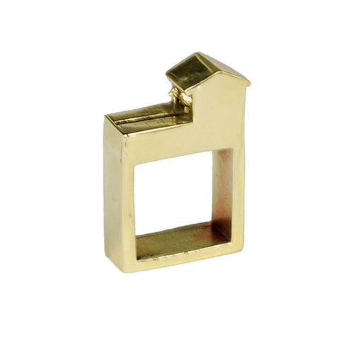 Birdhouse Brass Ring