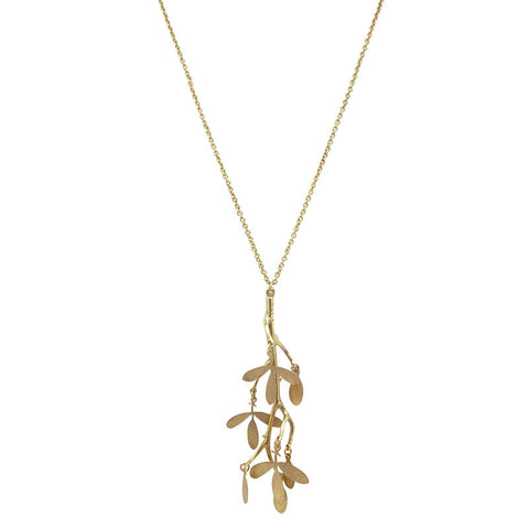 Branch Brass Necklace
