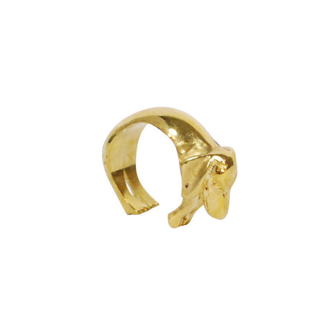 Dog Brass Ring
