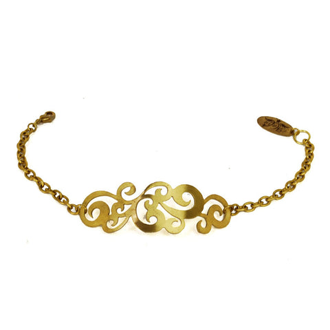 Filigree Brass Bracelet