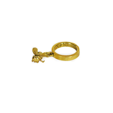 Fly Brass Ring